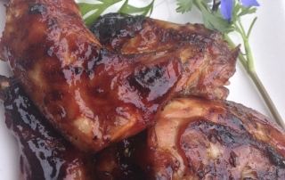 BBQ Basted Rabbit Hoppers