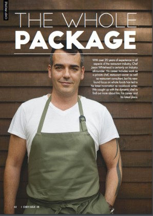 Chef Profile -Chef Magazine 2016